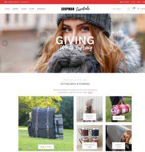 Essentials Website Header