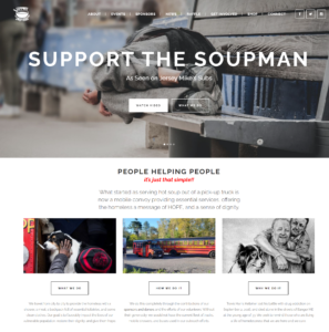 Support the Soupman Header