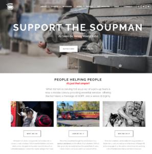 Support the Soupman Header